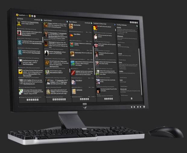 how to add facebook to tweetdeck