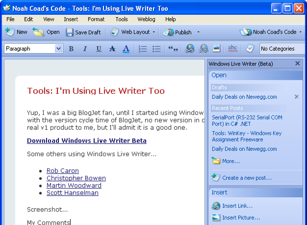 Windowswriter